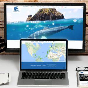 Site internet Wings of the Ocean