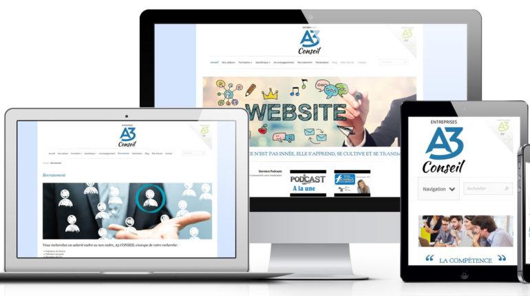 Site internet a3conseil
