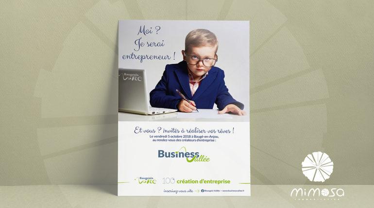 Affiche Business Vallée