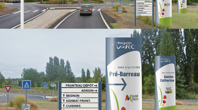 Signalétique Baugeois-Vallée