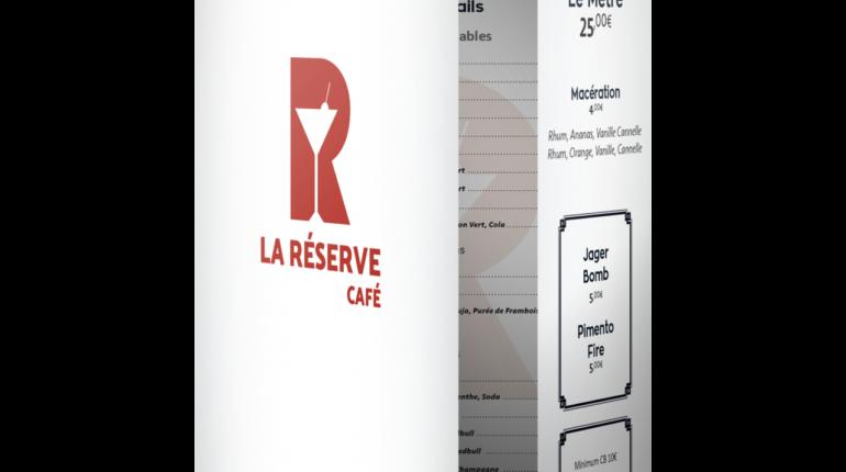 Carte du bar La Réserve (Nantes)