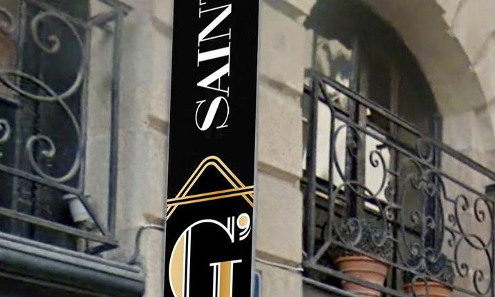 Saint G's bar - L'enseigne