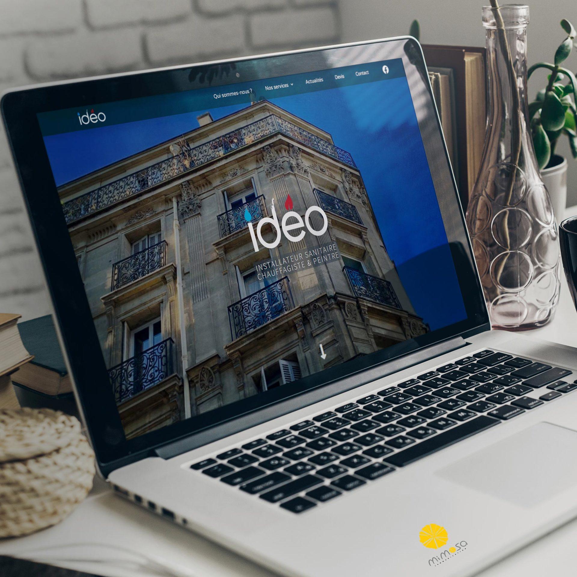 Site internet Idéo