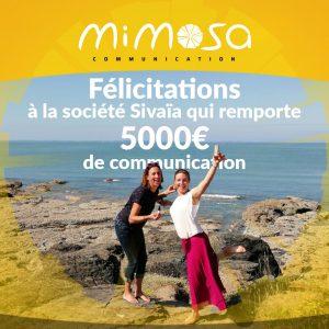 5000€ de communication pour Sivaïa